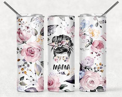 Floral Mama Tumbler