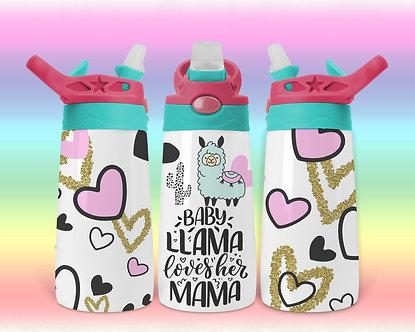 Baby Llama Loves Her Mama