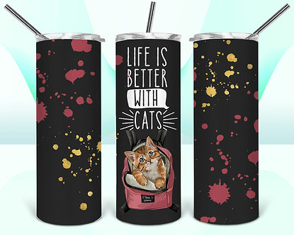 LifeIsBetterWithCats