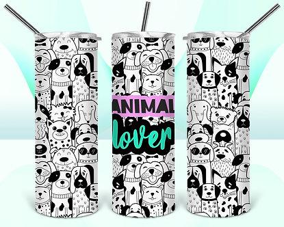 Animal Lover-Black and White