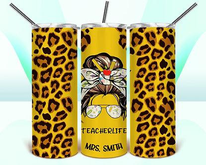 Teacher LIFE Cheetah print