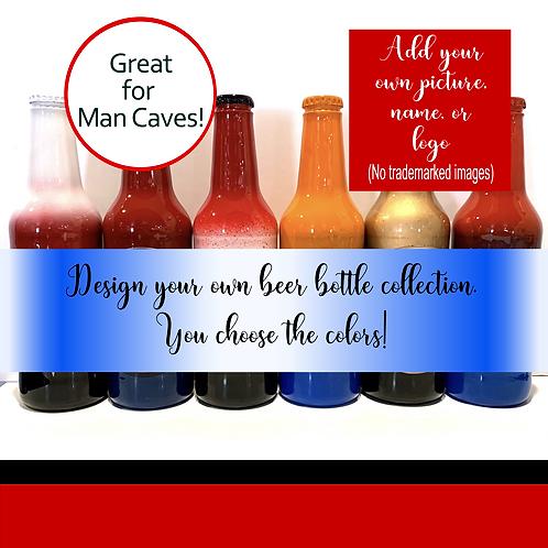 Custom  Glass Beer Bottles