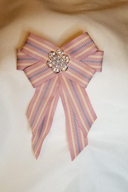 Bow-Tie Ribbon Pin