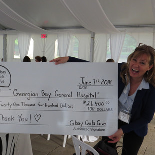 1st Social, June 7th, 2018, we raised $21,400 for the Georgian Bay General Hospital!