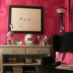 Contemporary Pattern - Lipstick Room