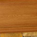 faux wood graining fireplace close-up.jp