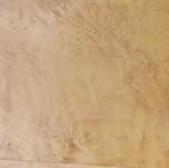Venetian plaster with metallic wax topcoat