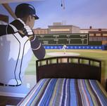 Kids Baseball Mural