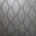 Metallic plaster pattern