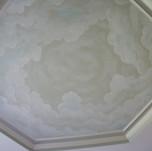 African Kid's Mural - Sky