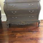 aged and distressed dresser