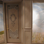 Entry mural and door mural