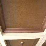 Faux Texture - Glaze in Coffer Ceiling.j