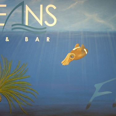Oceans Mural and Sign Painting