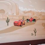 Cars Mural for Kids