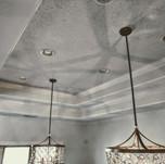 Glass beads on dinning room ceiling.jpg