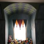 Kid's Circus Themed Mural