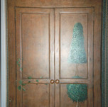 armoire accent mural