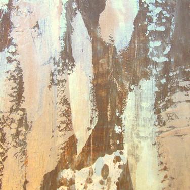 metallic plaster multicolor
