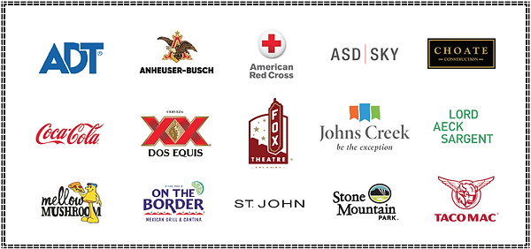ADT,Coca-Cola,Dos Equis, Anheuser-Busch and more companies I've worked for