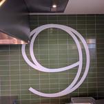 Restaurant lettering logo