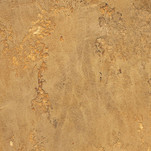 Textured plaster with gold base