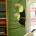 Elementary School Library Mural - Tucans
