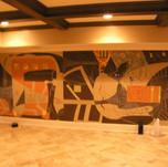Modern Mural Left
