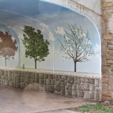 Johns Creek Ga mural for city park