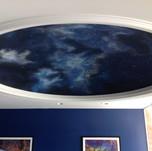 Fiber Optics Night Sky Mural