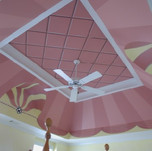 Pattern - Stripes on the ceiling - Party