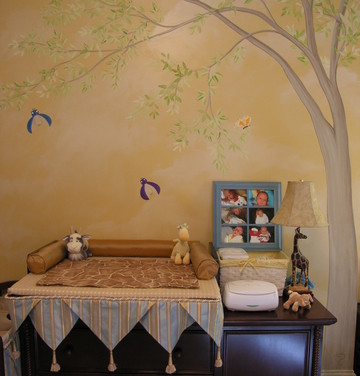 Kid's Nursery Tree Mural