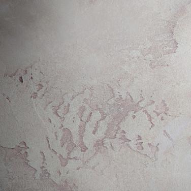 Sandstone plaster with grey glaze