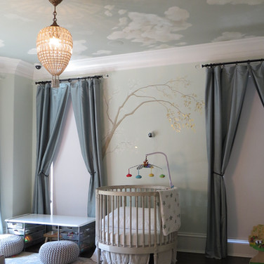 Sophisticated Baby Nursery