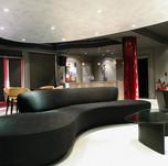 Metallic - Modern Silver Theatre ceiling