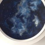 Fiber Optic Night Sky Mural