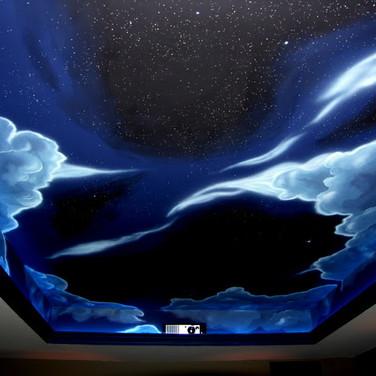 Night Sky Mural
