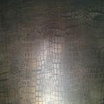 Metallic plaster Alligator pattern