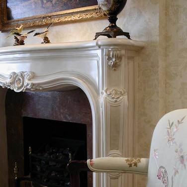 faux glazed mantle fireplace.jpg