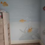 Kid's Underwater Mural