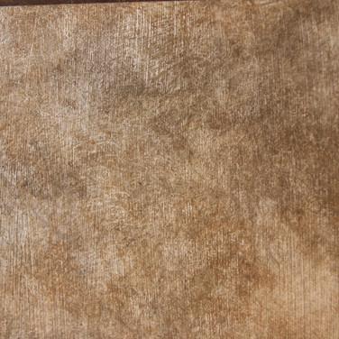 Faux Texture with Metallic Foil undercoat