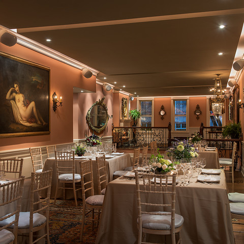 Seated Reception at Elizabeth's on L