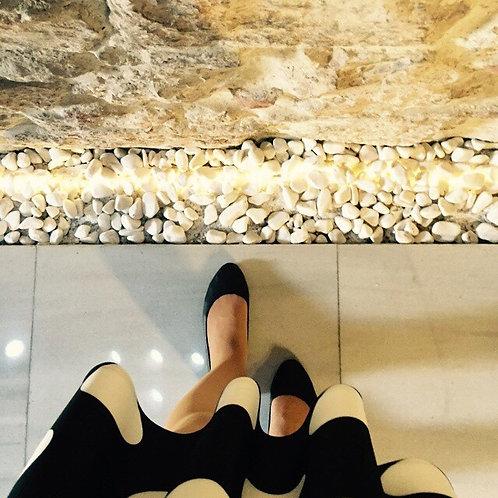 Düz Siyah Pisi Shoe