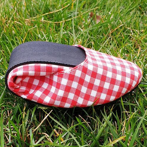 Kırmızı Piknik Desen Pisi Shoe