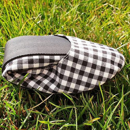 Siyah Piknik Desen Pisi Shoe