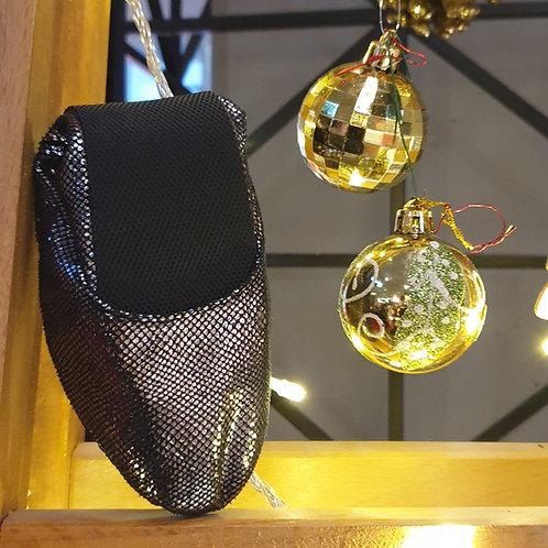 Gümüş Işıltılı Pisi Shoe