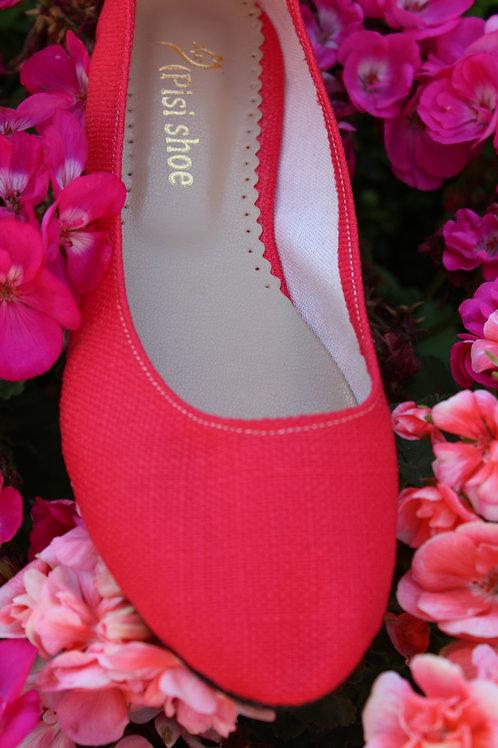 Kırmızı Keten Pisi Shoe