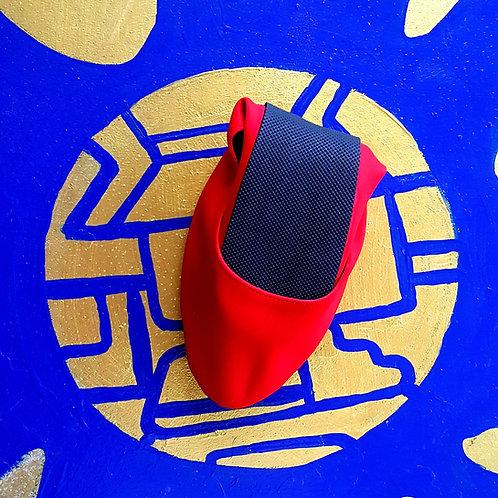 Düz Kırmızı Pisi Shoe
