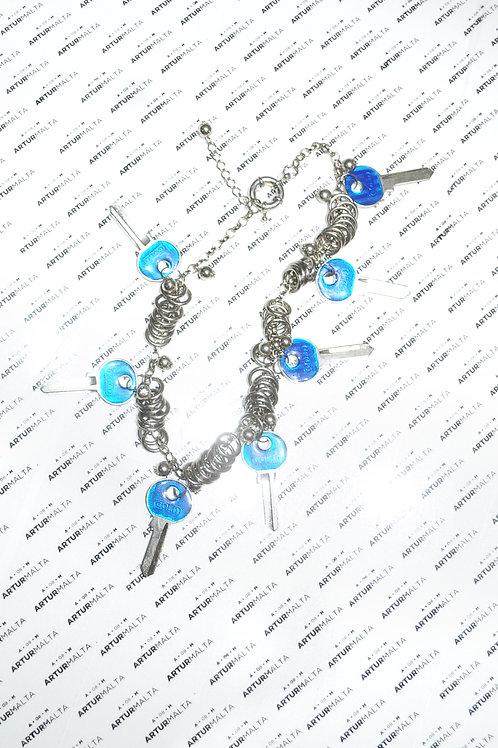 Gargantilha Azul