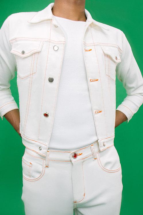 Jaqueta Percurso Branca